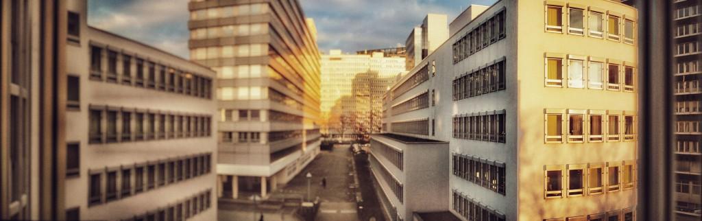 Supersonniger Morgen in Eschborn Süd