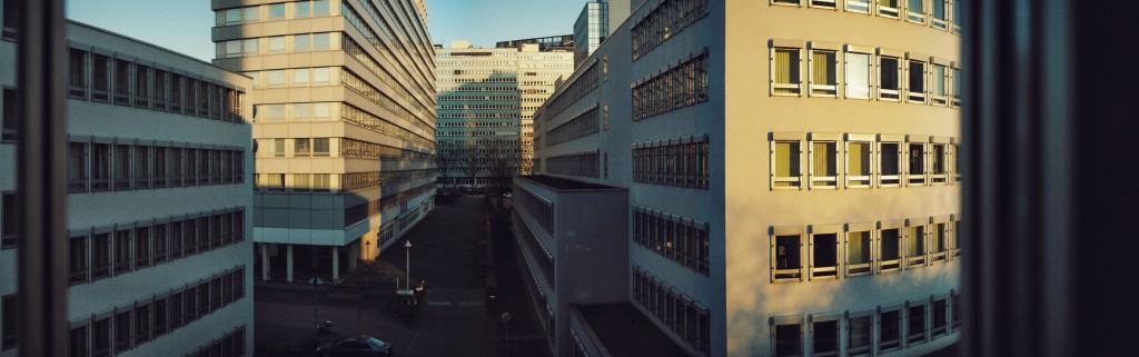 Sonniger Morgen in Eschborn Süd